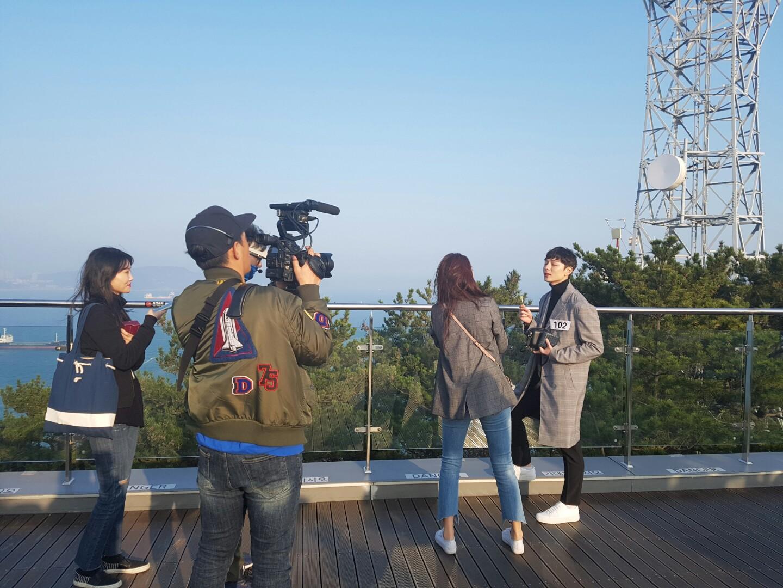 SBS `로맨스패키지` 촬영