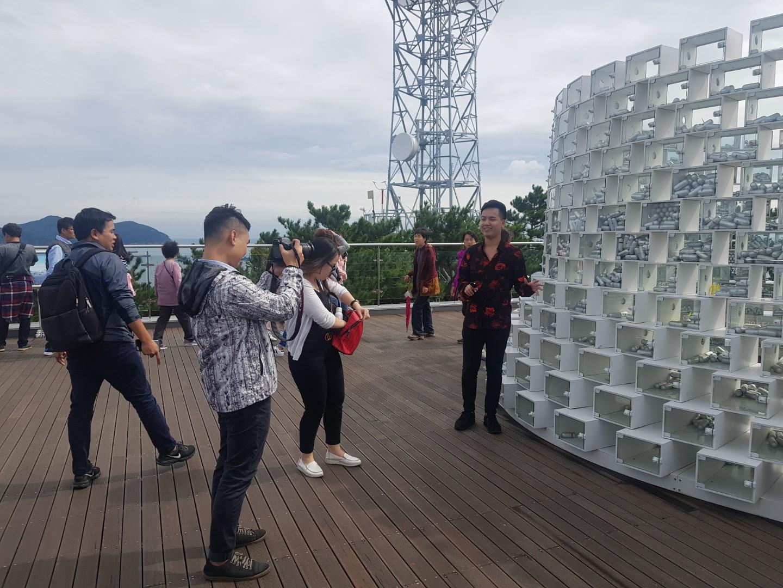 베트남 VTV1 TV 촬영